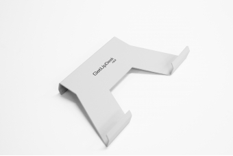GetUpDesk rack kannettavan teline tuotteelle GetUpDesk Light, valk.