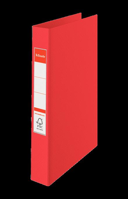 Rengaskansio Esselte Vivida 2RR/25 punainen 14451