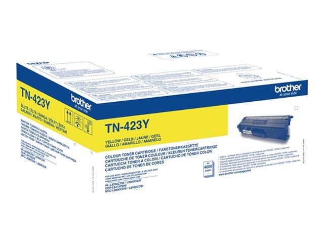TN-423Y Yellow, Brother DCP-L8410, HL-L8260, HL-L8360, MFC-L8690, MFC-L8900