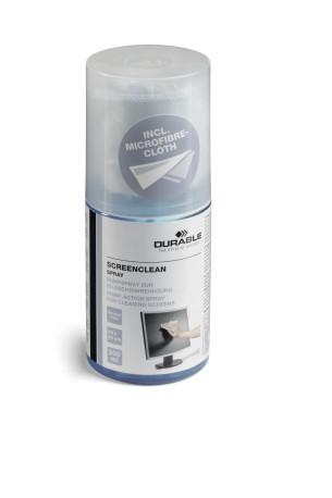 Durable Screenclean Spray 200ml pyyhkeellä 582300