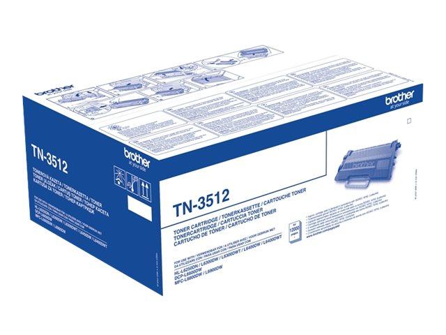 TN3512 Black, Brother DCP-L6600, HL-L6250, L6300, L6400, L6450, MFC-L6800, L6900, L6950, L6970