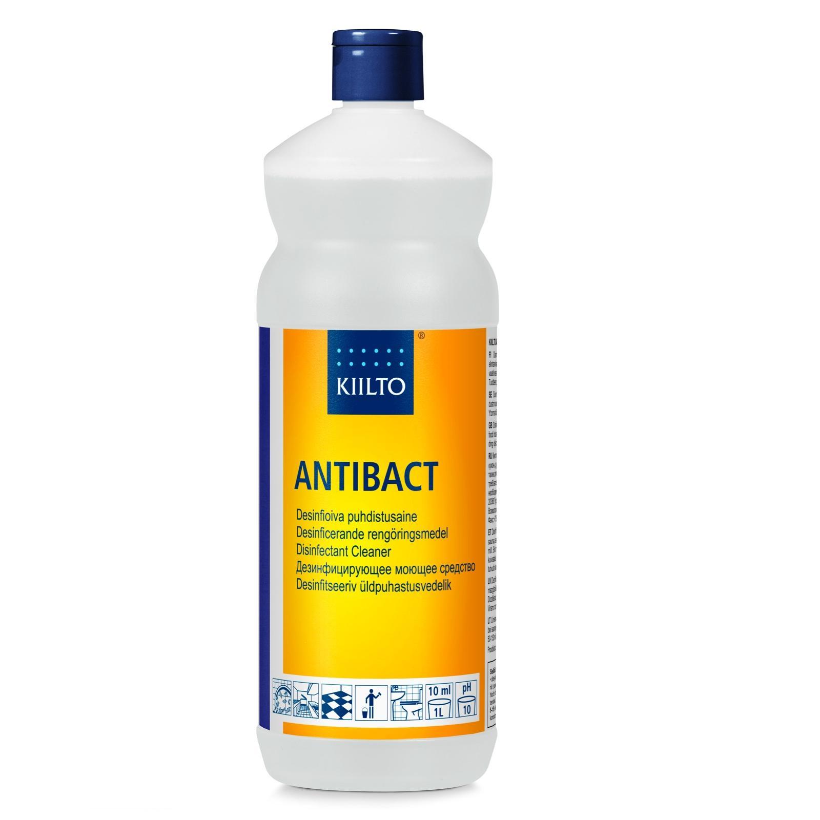 Kiilto Antibact Puhdistusaine 1 l