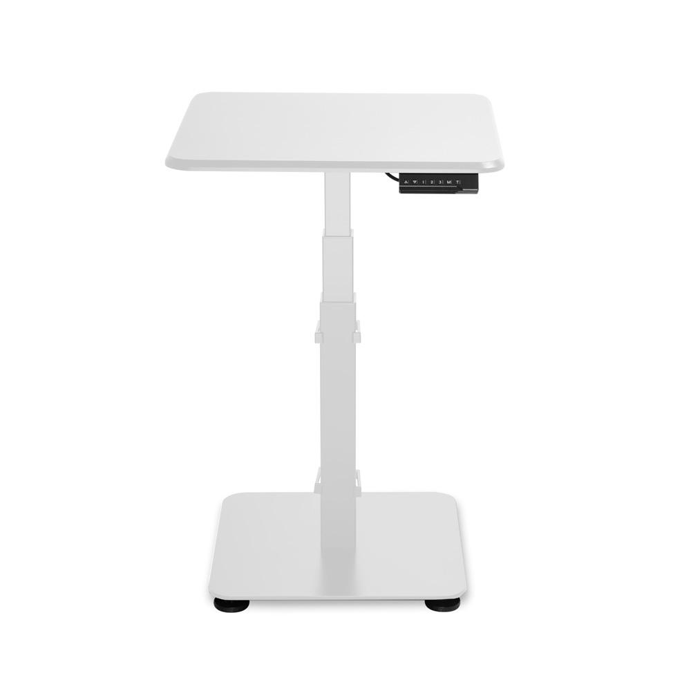 GetUpDesk Single sähköpöytä, valkoinen