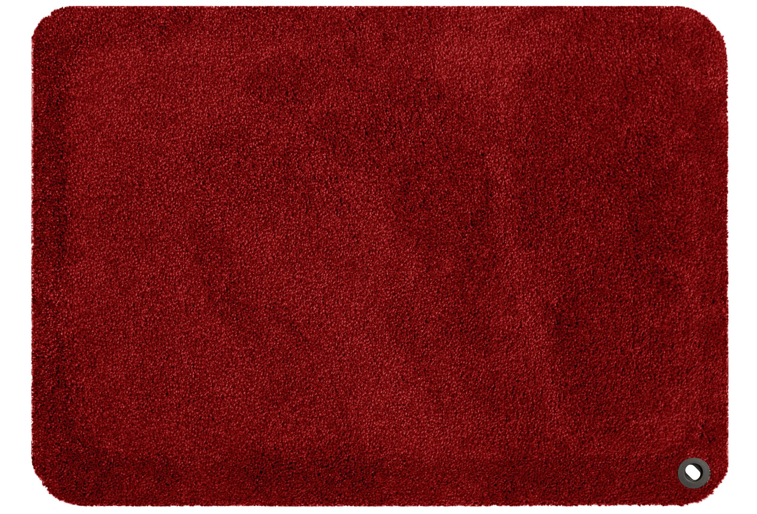 Kangaspäällysteinen työpistematto punainen