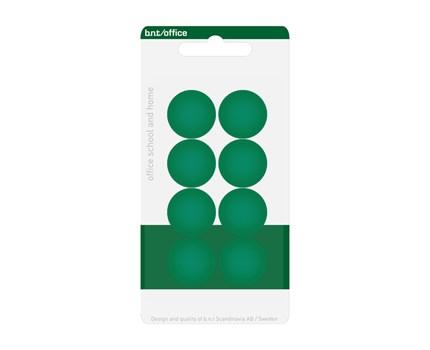 Magneetti 20 mm vihreä 8 kpl/pkt
