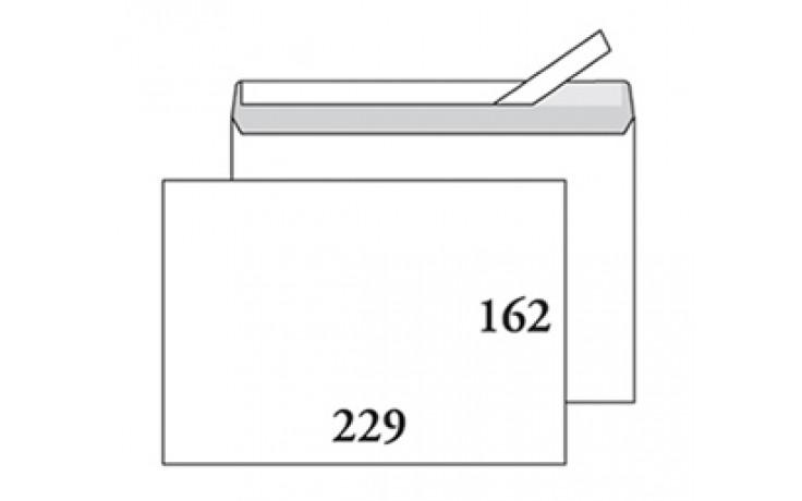 Kirjekuori C5 (162x229) tarralla, ilman ikkunaa, 1000/ltk / 1939
